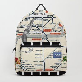 You Like This in London Backpack
