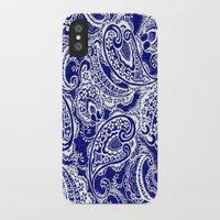 batik iPhone & iPod Cases featuring paisley batik by Ariadne