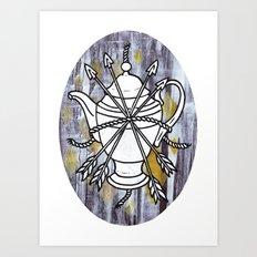 Four Arrows Art Print