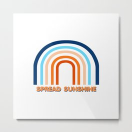 Spread Sunshine 1 Metal Print