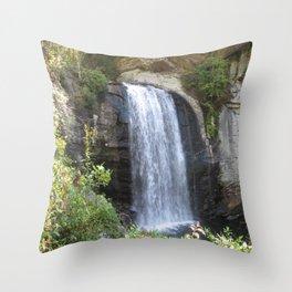 Waterfall #56 Throw Pillow