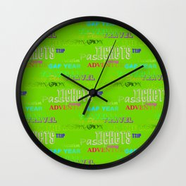 Journey 4 Wall Clock
