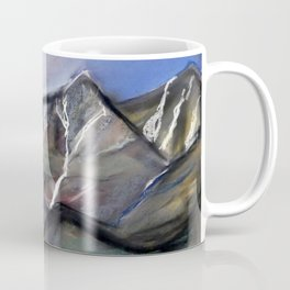 stormy sky above the mountains Coffee Mug