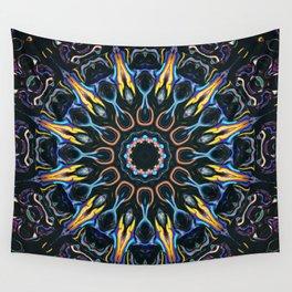 Night Sun Mandala Wall Tapestry
