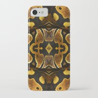 monty python iPhone & iPod Cases featuring Ball Python by Moody Muse
