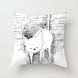 minima - deco cat Throw Pillow
