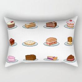 Pixel Cakes Rectangular Pillow