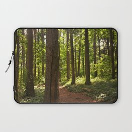 Rising Sun in the Forest Laptop Sleeve