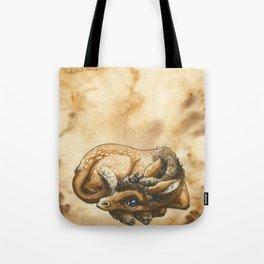Baby Unicorn Faun Tote Bag