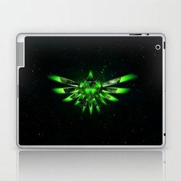 Zelda Triforce Green Space Laptop & iPad Skin