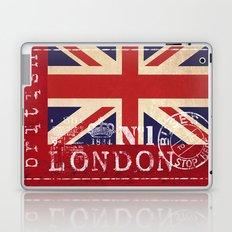 Union Jack Great Britain Flag Laptop & iPad Skin