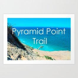 Pyramid Point - Sleeping Bear Dunes National Park-Lake Michigan - Michigan Art Print