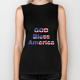 God Bless America Biker Tank