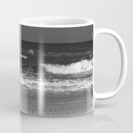 Dark, Friendly Waves Coffee Mug