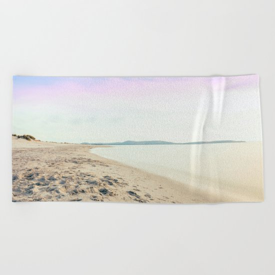 Sand, Sea and Sky - Relaxing Summertime Beach Towel
