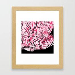 Potty Mouth Framed Art Print