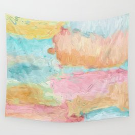 Abstract Watercolor - Design No.1 Wall Tapestry
