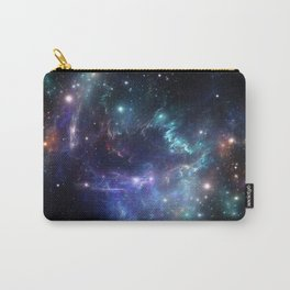 Violet green nebula galaxy 180715 Carry-All Pouch