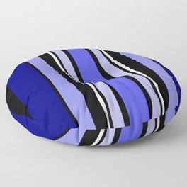 Stripes in colour 7 Floor Pillow
