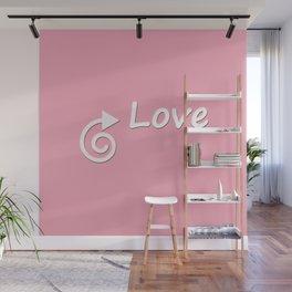 This Way Love Wall Mural