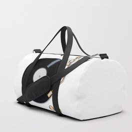 Record Deck Duffle Bag