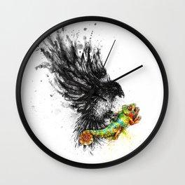 Monotony Strikes Back Wall Clock