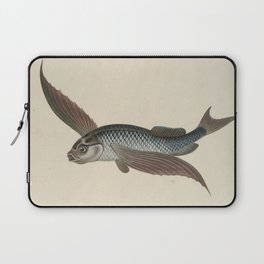 Vintage Flying Fish Laptop Sleeve