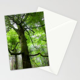 The Conductor Tree Stationery Cards