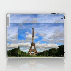 Eiffel Tower Day Laptop & iPad Skin