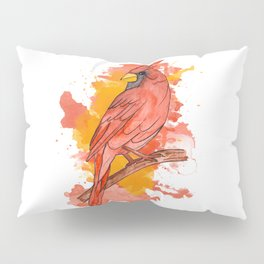 Red cardinal Pillow Sham