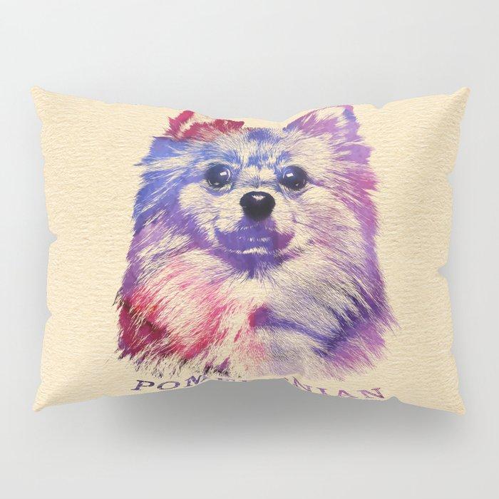 Cute Pomeranian German Spitz Pillow Sham