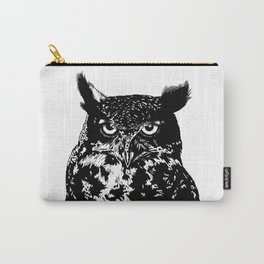 portrait of the owl Carry-All Pouch