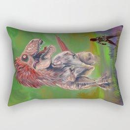 Magia Verde Rectangular Pillow