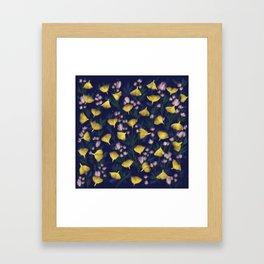 Ginkgo Blossoms Framed Art Print