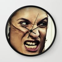 the shining Wall Clocks featuring Shining by VikaValter