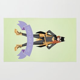 Fight Like a Girl: Batgirl Rug