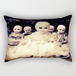 Ghostly Dolls Rectangular Pillow