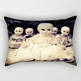 Ghostly Dolls Rectangular Pillow