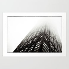 Chicago Hancock Tower Art Print