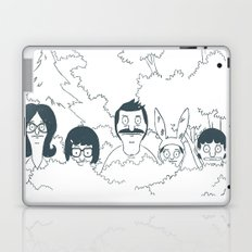 Belchers behind bushes Laptop & iPad Skin