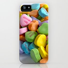 My Heart Spills over with Love for You iPhone Case
