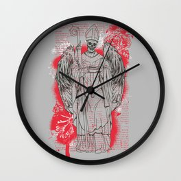 Dark Angel Wall Clock