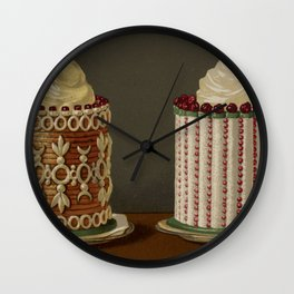 French OLD Confectionery Wall Clock