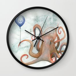 doom balloon Wall Clock