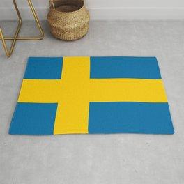 Flag: Sweden Rug