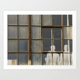 Mannequins in the Window Art Print