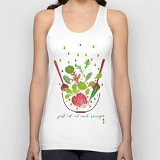 just ad oil and vinegar 2 Unisex Tank Top
