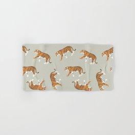 Tiger Trendy Flat Graphic Design Hand & Bath Towel