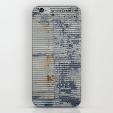 Warehouse District -- Rustic Industrial Farm Chic Abstract iPhone & iPod Skin