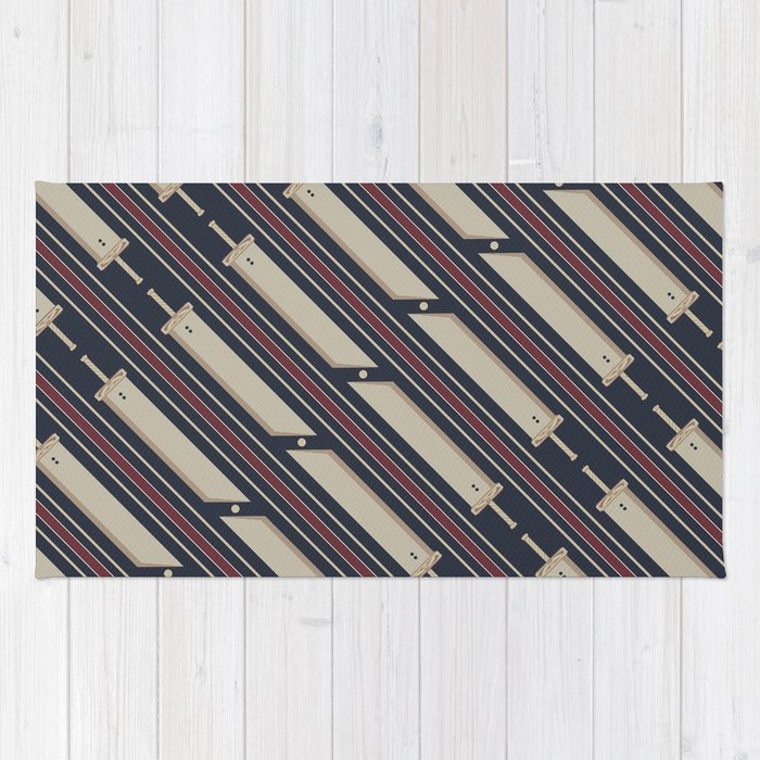 Business Buster Rug By Reverendryu Society6